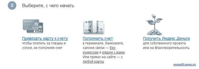 регистрация кошелька яндекс деньги